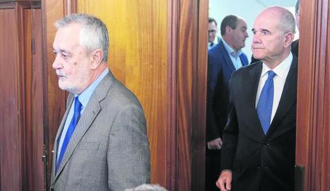 José Antonio Griñán i Manuel Chaves, en una imatge d'arxiu.