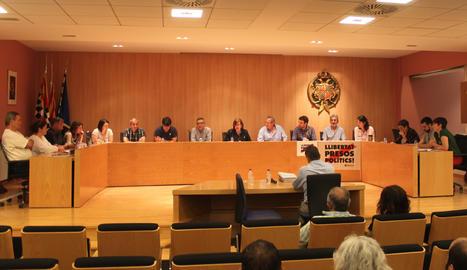 El ple de l'ajuntament de Lleida
