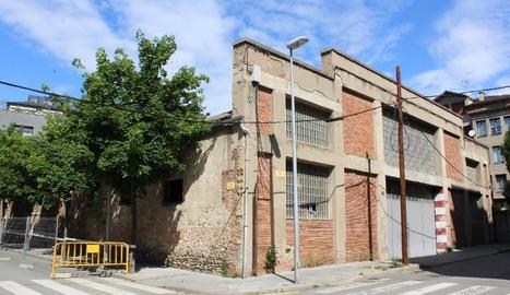 Antics magatzems de l'Alsina Graells, on s'ubicarà el CAP.