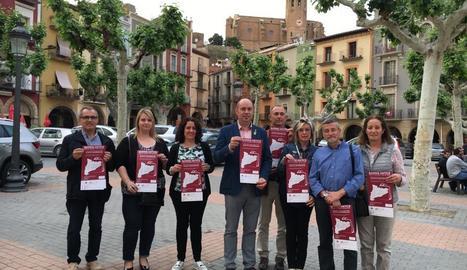 Presentació de la nova campanya a Balaguer.