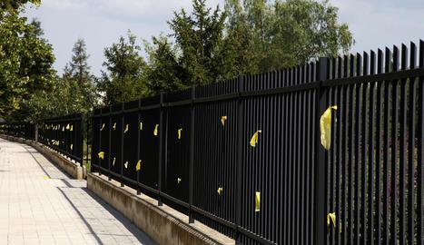 Tàrrega celebra un 'sopar groc' pels presos polítics i exiliats.