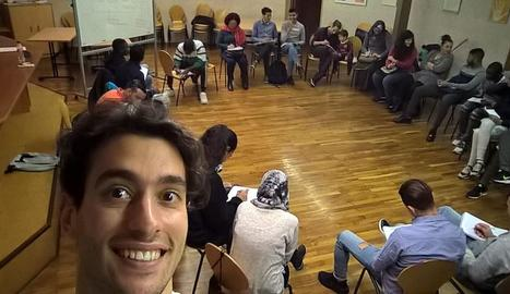 Vídeo sobre l'experiència de joves voluntaris europeus a la Paeria