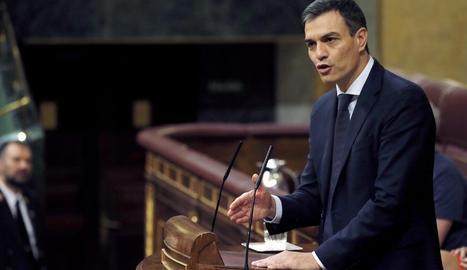 La investidura de Pedro Sánchez protagonitza l'actualitat.