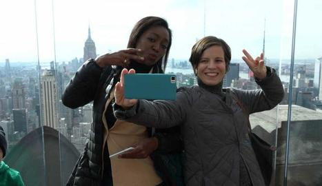 'Tribus viajeras' a Nova York