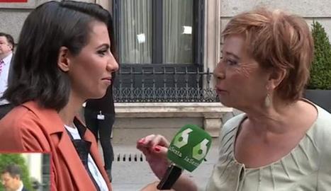Villalobos amb Ana Pastor.