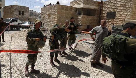 Un palestí mort en un atac fallit