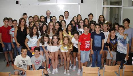 El periodista Antoni Bassas captiva el públic en un acte a Alpicat