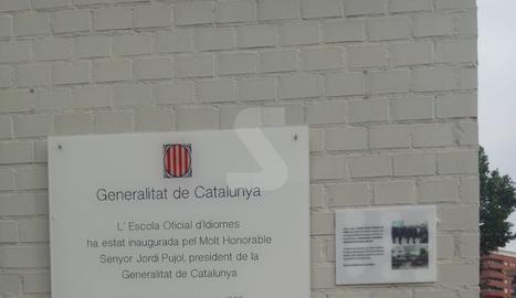 Plaques per l'1-O a Lleida