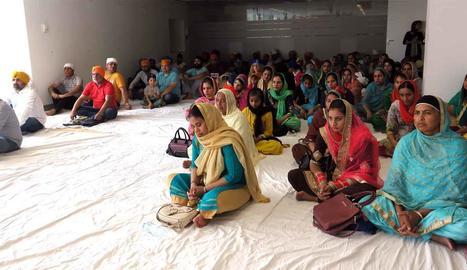 Festivitat de la comunitat sikh de Lleida