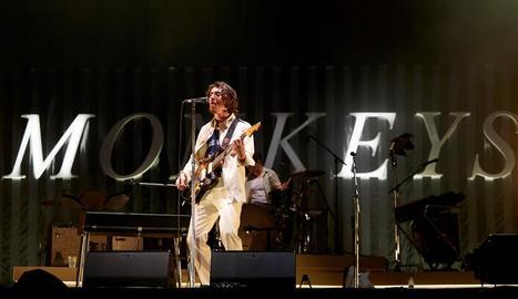 Arctic Monkeys, amb Alex Turner al capdavant, al Primavera Sound.
