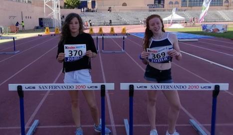 Paula Niubó i Alba Potrony, novena i onzena a Cadis.