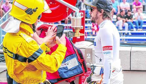 Alonso, millor temps a Le Mans