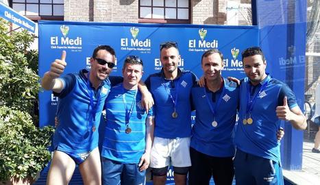 El CN Lleida conquereix dotze medalles al Català Màster