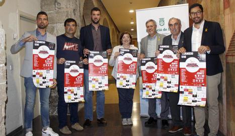 El torneig, que tindrà caràcter internacional, es va presentar ahir a la Diputació.