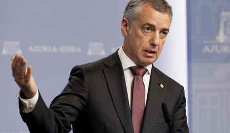 """Urkullu va criticar el """"revengisme"""" dels populars."""