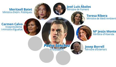 Els ministres de Pedro Sánchez