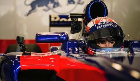 Márquez rueda en Spielberg con el Red Bull Toro Rosso de Fórmula Uno