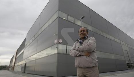 Imatge d'arxiu de Juan Manuel Chacón a la nau de La Piemontesa a Lleida