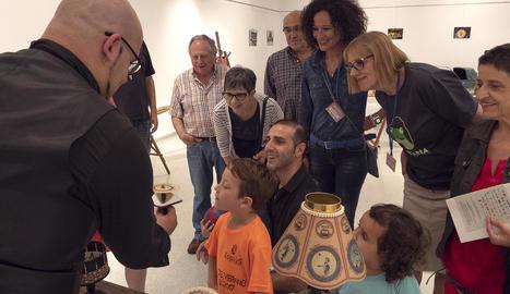 Inauguració de la mostra 'La feria de las ilusiones' d'Imaginaria.
