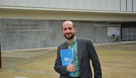El professor de la UdL Jorge Moya, coautor de l'estudi.
