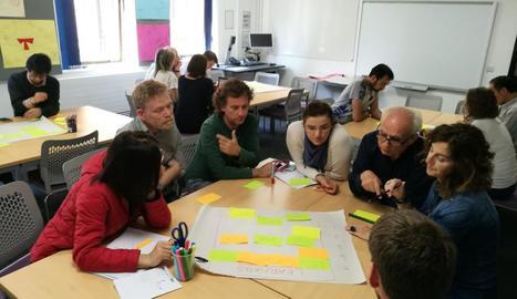 La reunió que van mantenir els centres a Exeter.