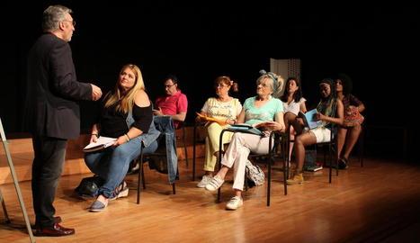 Final de curs teatral amb els Amateurs de Normalització Lingüística