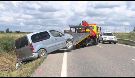 Accident a Tarroja de Segarra