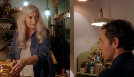 Mercedes Sampietro amb Pablo Derqui, a la nova sèrie.