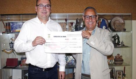 La Cursa de la Dona d'Alpicat entrega 2.470 euros contra el càncer