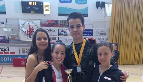 Medalla de plata per al Lleida PA