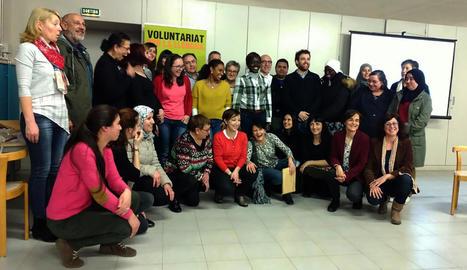 Última edició del 'Voluntariat per la llengua' de Tàrrega.