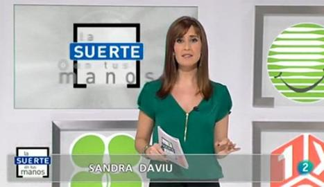 Sandra Daviú a La 2.