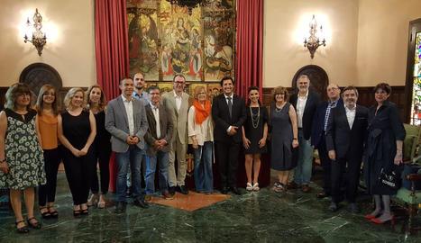 Els Amics de l'Òpera entreguen el Pin d'Or a Jorge de León