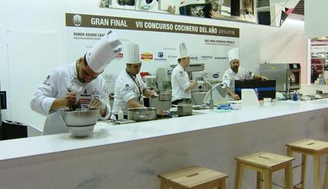 Concurs de cuiners, cada vegada més multitudinaris.