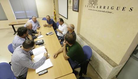 La reunió sobre les ZLN la setmana passada a les Borges.