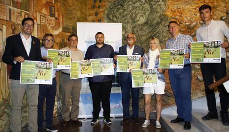 La Diputació va acollir ahir la presentació de la vuitena edició del torneig formatiu.
