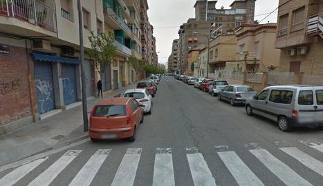 El carrer Nadal Meroles de Lleida.