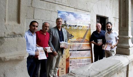 La presentació del cicle de concerts va tenir lloc ahir a l'Institut d'Estudis Ilerdencs.