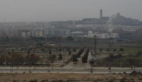 Part de l'àrea de Torre Salses, el denominat pla parcial SUR 42, entre la Bordeta i els Magraners.