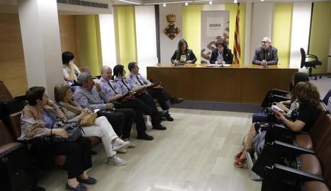 El consell comarcal del Segrià va acollir ahir la firma del Servei d'Atenció Integral a la diversitat sexual i de gènere.