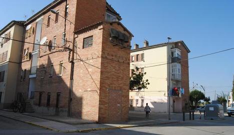 Vista de pisos del grup Sant Isidori de Mollerussa.