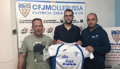 El Mollerussa renova Edgar Pocurull per a la seua etapa a Primera