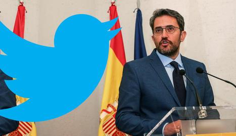 El ministre de Cultura i Esport, Máxim Huerta.