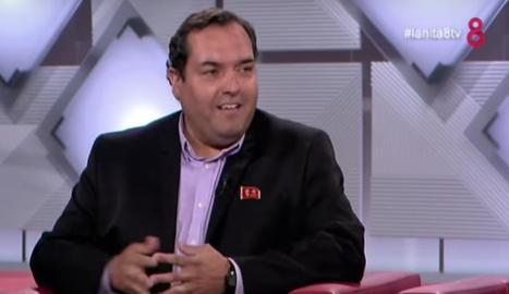 Alejandro Cao de Benós a 8TV.