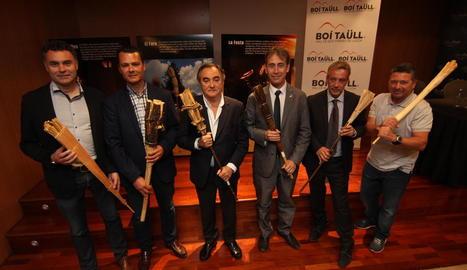 La presentació de la nova temporada d'estiu de Boí Taüll a la Finca Prats de Lleida.