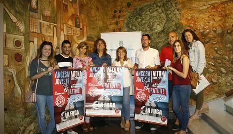 La Diputació de Lleida va acollir la presentació de l'Ancesa Jove 2018, que se celebrarà a Aitona.