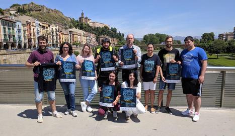 Un moment de la presentació de la Transsegre, que tindrà lloc del 13 al 15 de juliol a Balaguer.