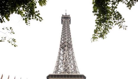 La tanca de la Torre Eiffel.