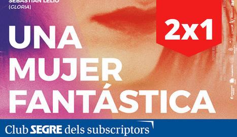 Cartell de la pel·lícula 'Una mujer fantástica' de Sebastián Lelio.