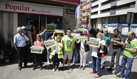 La concentració de la PAH d'ahir a la ciutat de Lleida.